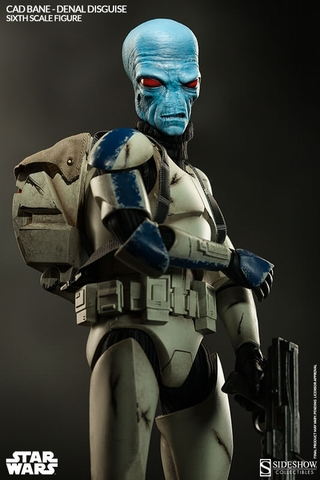 Cad Bane in Denal Disguise Sixth Scale Figure