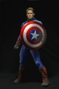 Captain America Battle Damaged 1:4 Scale Figure