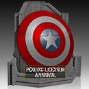 Captain America Shield Bookend by Gentle Giant