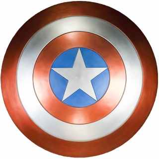 Captain America Shield Prop Replica - Avengers Version