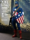 Captain America Star Spangled Man Exclusive 1/6 Scale Figure