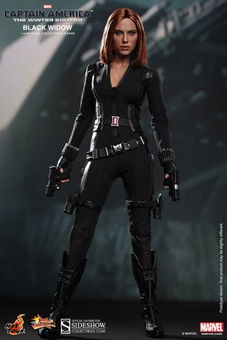 Captain America: The Winter Soldier Black Widow 1/6 Scale Figure