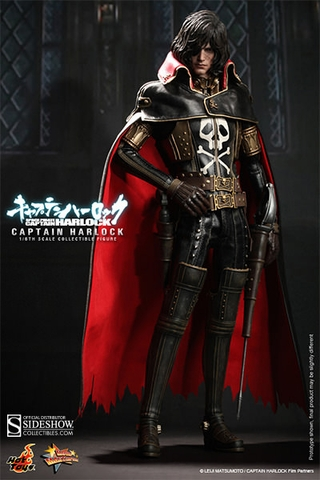 Captain Harlock 1/6 Scale Figure