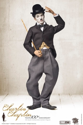 Charlie Chaplin Tramp 100th Anniversary Sixth Scale Figure - Regular Version