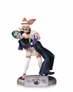 DC Comics Bombshells The Joker and Harley Quinn Statue