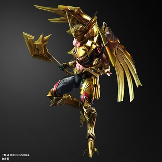DC Comics Play Arts Kai Variant Hawkman Figure