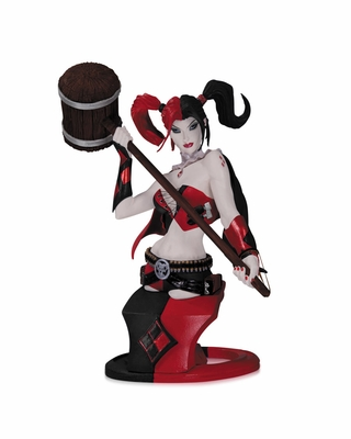 DC Comics Super Villains Harley Quinn Bust (Second Edition)