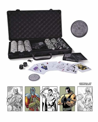 DC Comics Super Villains Poker Set - Free U.S. Shipping