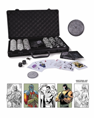 DC Comics Super-Villains Poker Set