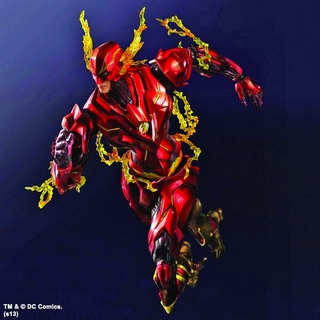 DC Comics Variant Play Arts Kai Flash Action Figure