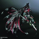 DC Comics Variant Play Arts Kai Previews Exclusive Red Batman Action Figure
