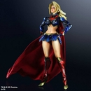 DC Comics Variant Play Arts Kai Supergirl Action Figure