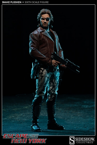 Escape from New York Snake Plissken 1/6 Scale Figure