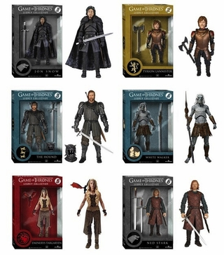Game of Thrones Legacy Collection Action Figures - Set of 6