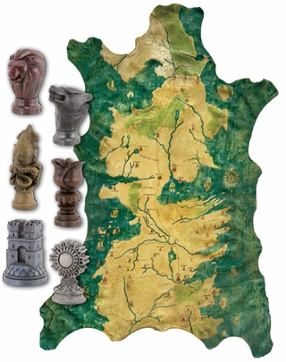 Game of Thrones Map and Marker Set