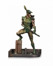Green Arrow Mini Patina Statue