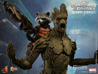 Guardians of the Galaxy Rocket and Groot 1/6 Scale Figure Set