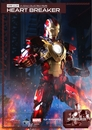 Iron Man 3 Super Alloy Heartbreaker 1/4 Scale Figure