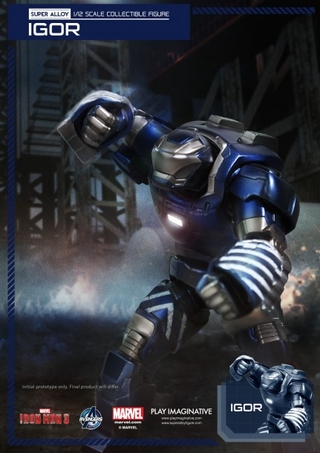 Iron Man 3 Super Alloy Igor 1/12 Scale Figure