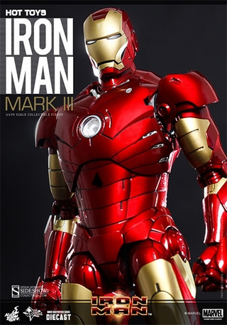 Iron Man Mark III Die Cast 1/6 Scale Figure