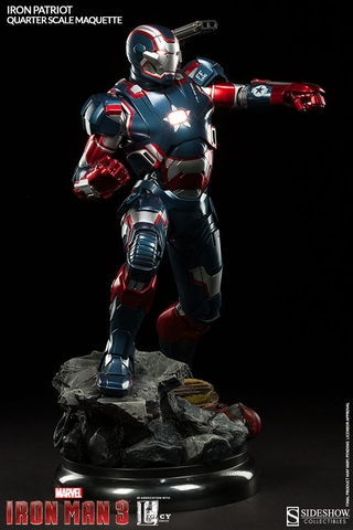 Iron Patriot Quarter Scale Maquette