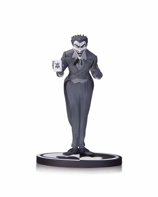 Joker Black and White Statue by Dick Sprang