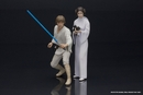 Luke Skywalker and Princess Leia ARTFX+ Statue Set