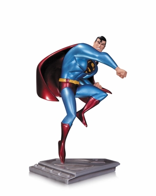 Man of Steel Animated Superman Statue