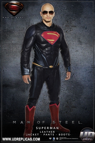 Man of Steel Superman Leather Jacket