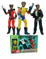 Marvel Cloth Retro Wolverine Action Figure Limited Edition Box Set