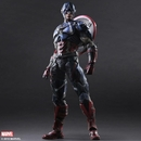 Marvel Universe Variant Play Arts Kai Captain America Figure