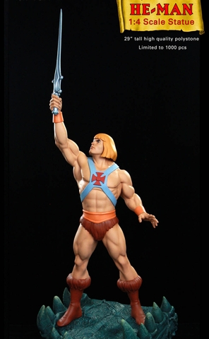 Masters of the Universe He-Man Statue by Pop Culture Shock Collectibles