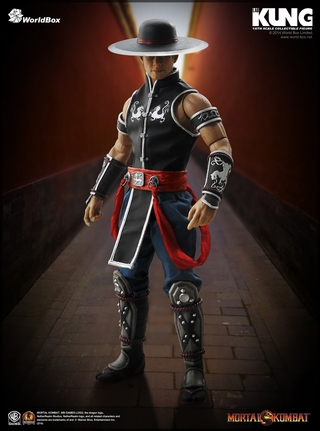 Mortal Kombat Kung Lau Sixth Scale Figure