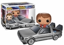 POP Back to the Future Delorean and Marty McFly