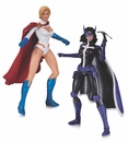 Powergirl and Huntress Action Figure 2 Pack