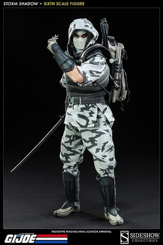 Sideshow Collectibles Storm Shadow 1:6 Scale Figure
