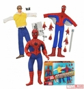 Spider-Man 8 Inch Retro Action Figure Set - Free U.S. Shipping!