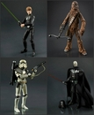 Star Wars Black Series Wave 5 Set of 4 Figures