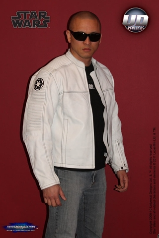Star Wars Empire Racing Jacket (White)