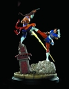 Street Fighter Chun Li vs Vega Diorama Statue