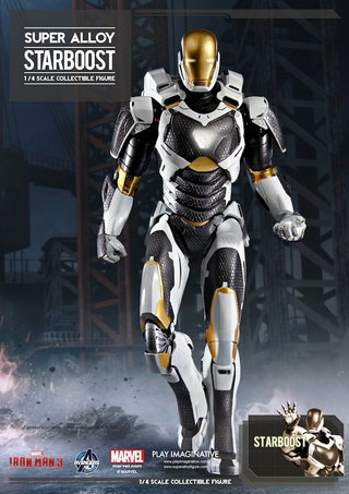 Super Alloy Starboost 1/4 Scale Figure