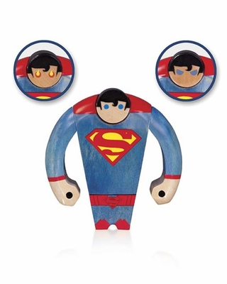 Superman Wood Figure