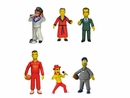 The Simpsons 25th Anniversary 5 Inch Action Figures - Set of 6