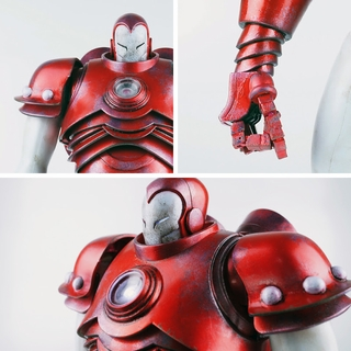 threeA Iron Man Silver Centurion Armor 1/6 Scale Figure
