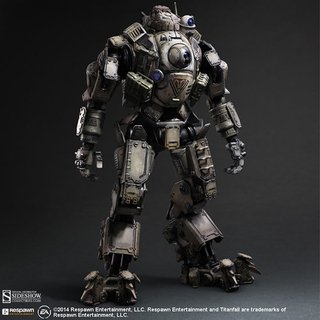Titanfall Play Arts Kai Atlas Collectible Figure