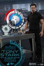 Tony Stark with Arc Reactor Creation Accessories