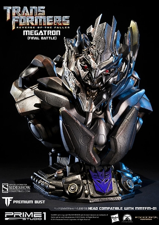 Transformers Megatron Final Battle Bust