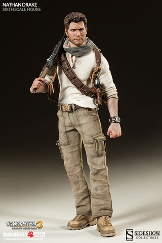 Uncharted 3 Nathan Drake Sixth Scale Figure