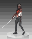 Walking Dead TV Michonne Statue by Gentle Giant