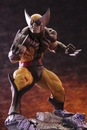 Wolverine Brown Costume Fine Art Statue